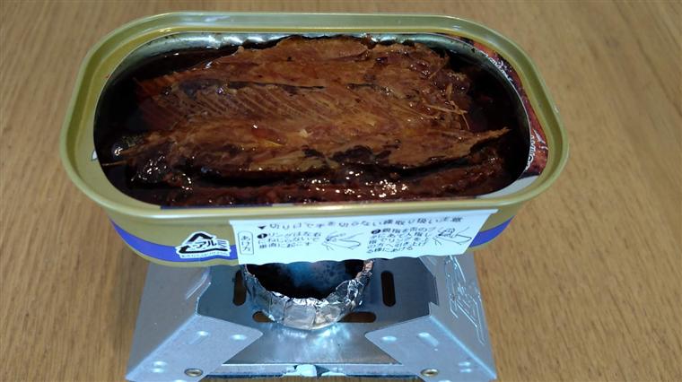 中華製ポケットストーブ缶詰