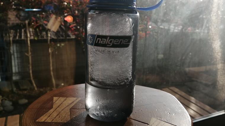 ナルゲンボトル冷凍