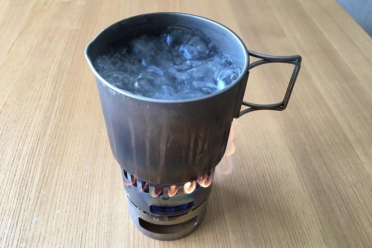 エバニュー チタンマグポット500 湯沸かし