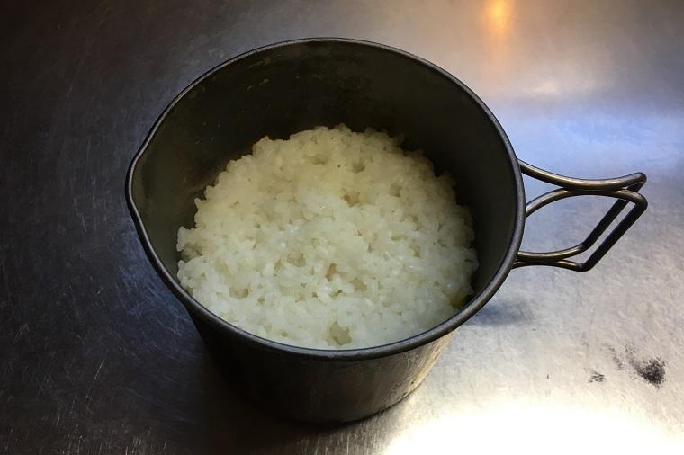 エバニュー チタンマグポット500ストーブセット 炊飯