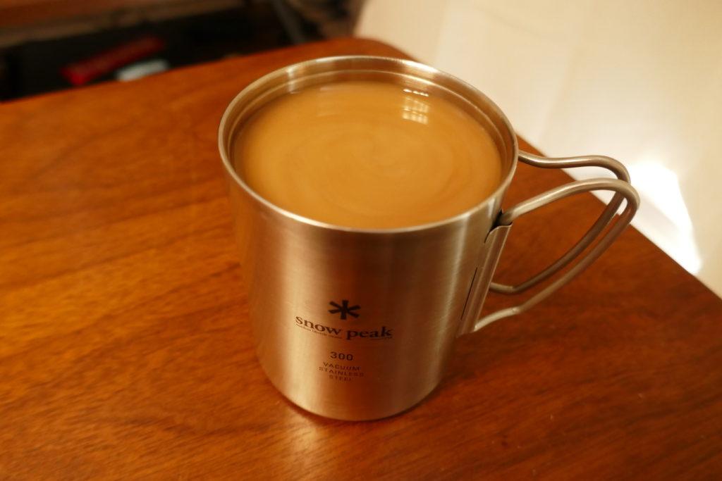 コーヒーバネットカフェラテ