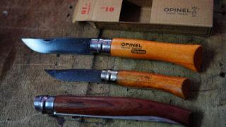 オピネルナイフサイズの違い 8,10,12 選ぶならどれ