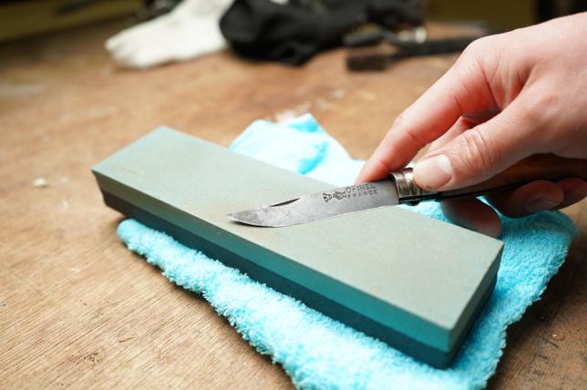 オピネルナイフ研ぎ方