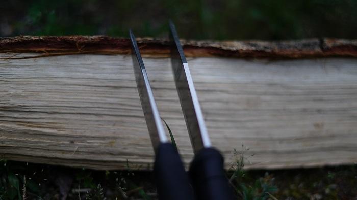 バトニングナイフ刃厚