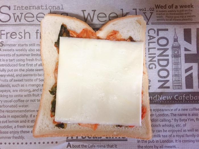 キムチーズサンド