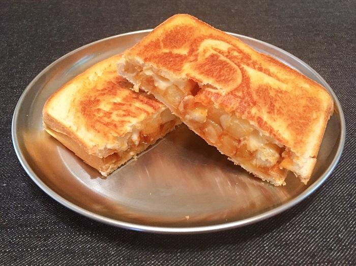 BBQポテトチーズサンド