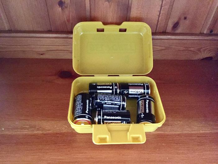 セリア電池収納ボックス