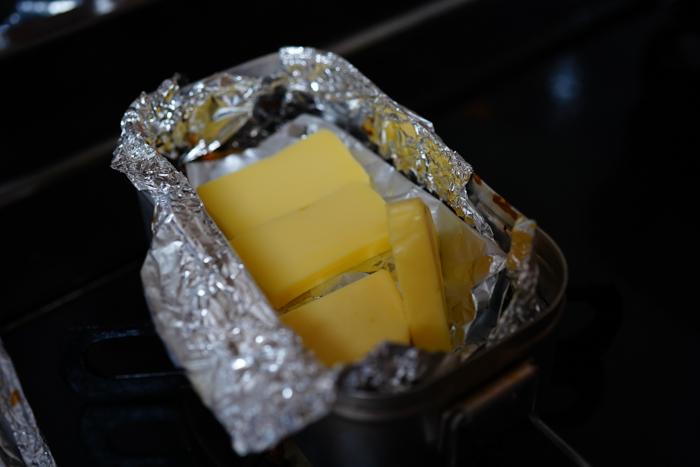 メスティン燻製チーズ