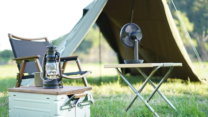 キャンプ扇風機