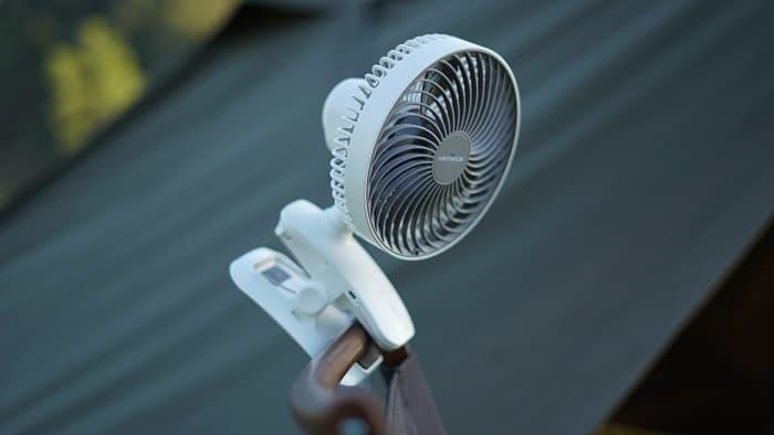 キャンプ 扇風機 クリップ