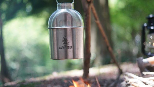 野営直火水筒