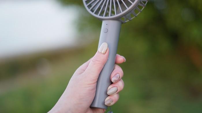 ハンディ扇風機コンパクト