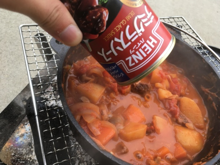 ニトリダッチオーブン ビーフシチュー
