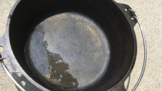 ニトリダッチオーブン錆び