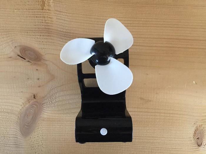 100均扇風機ダイソースタンド