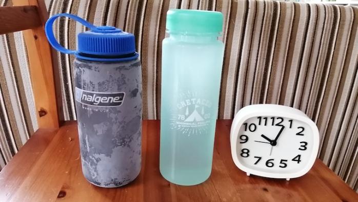 ナルゲンボトル保冷効果