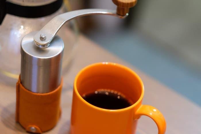 キャンプ コーヒーミル