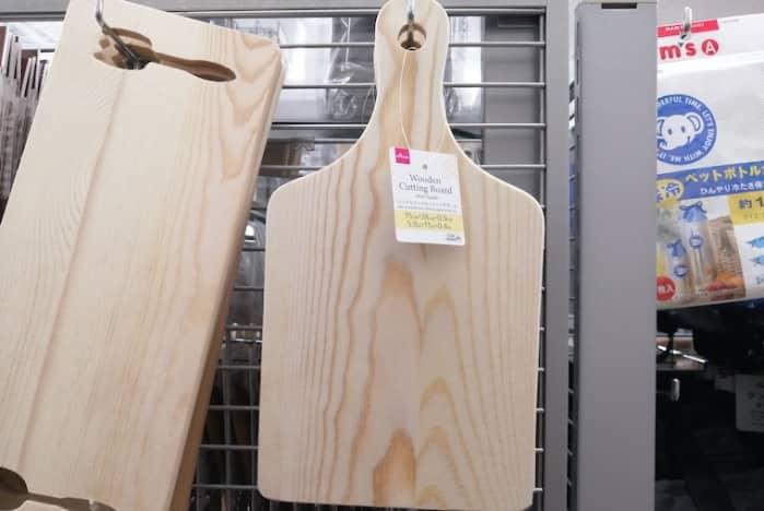 100均 ダイソー 木製まな板
