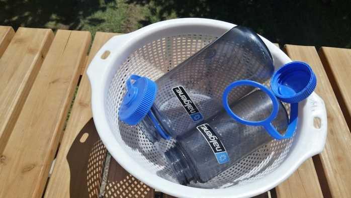 ナルゲンボトル洗い方乾燥