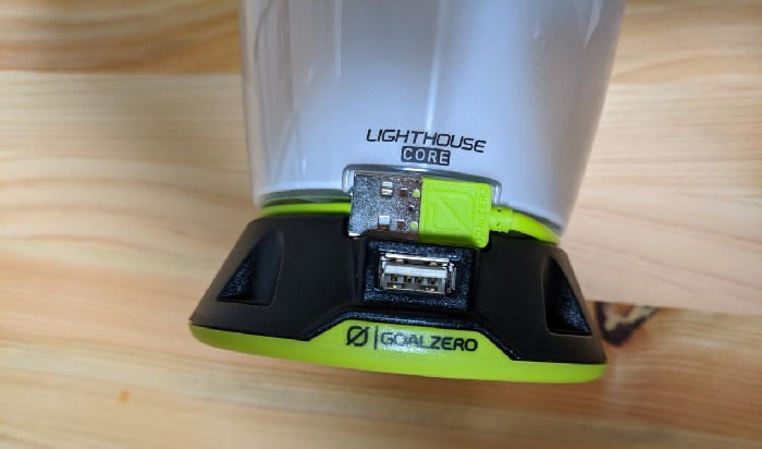 GOAL ZERO LIGHTHOUSE CORE LANTERN