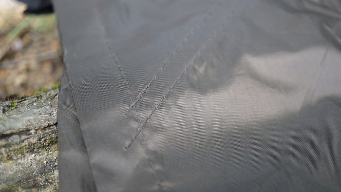 DDタープ縫い目