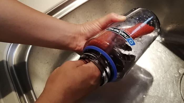 ナルゲンボトルの洗い方