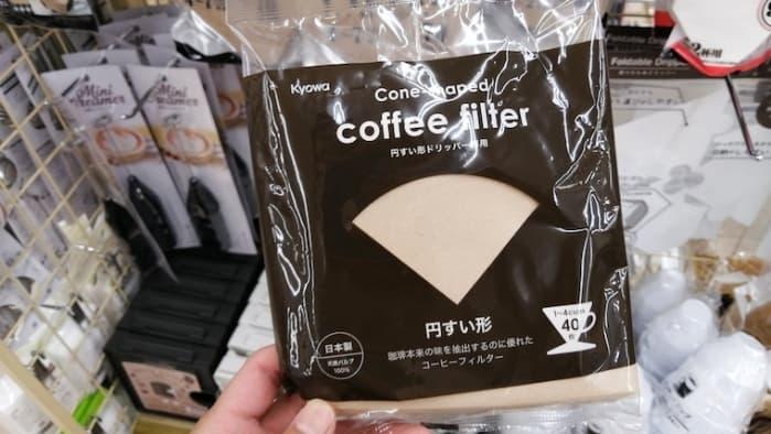 100均コーヒーフィルター
