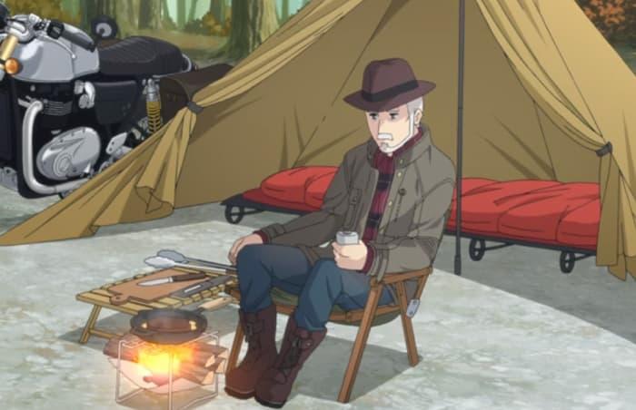 おじいさんテント