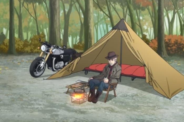 りんちゃんお爺さんテント