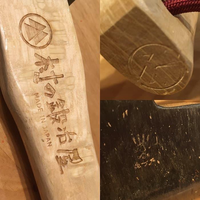 カービングアックス馬斧