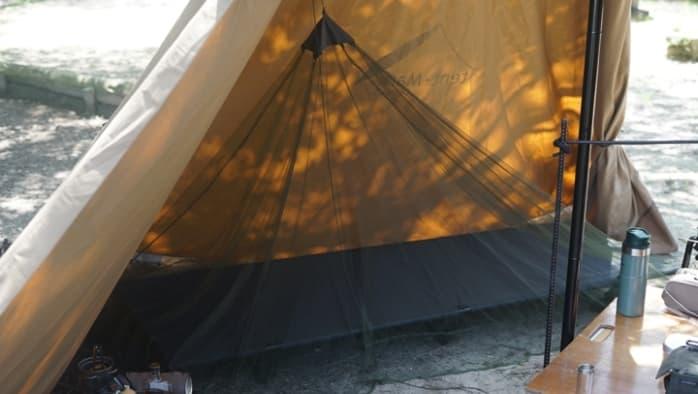 サーカスTC キャンプ 蚊帳