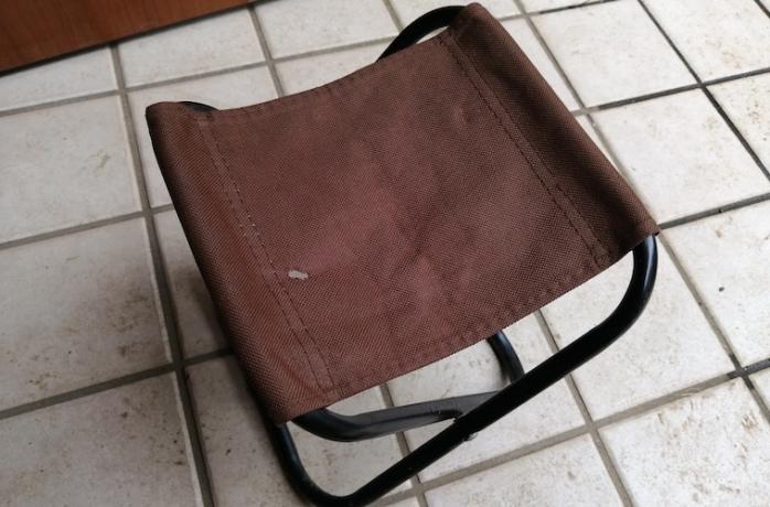 100均まな板DIY ダイソー椅子