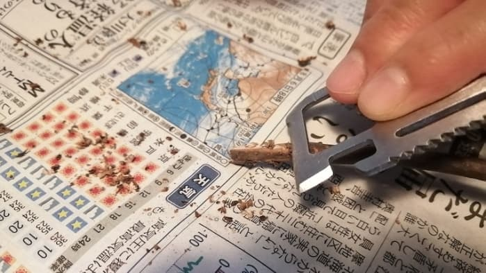 セリア マルチツールプレート 削る