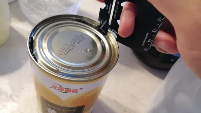 ダイソー マルチツールプレート 缶切り