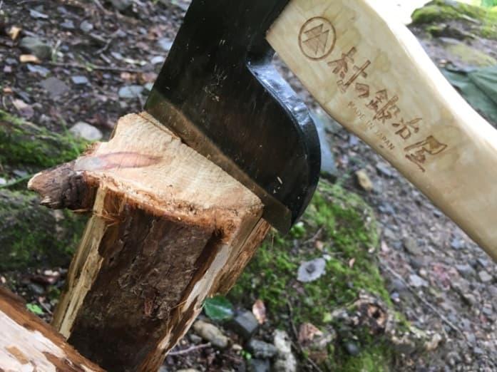 カービングアックス馬斧 針葉樹