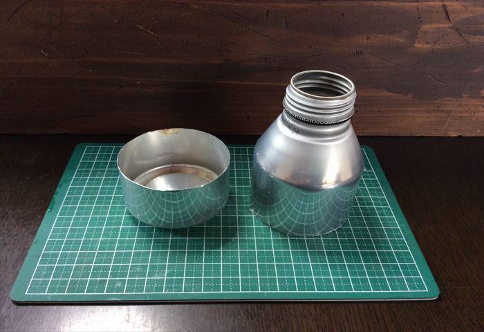 アルコールストーブ 自作 アルミ缶