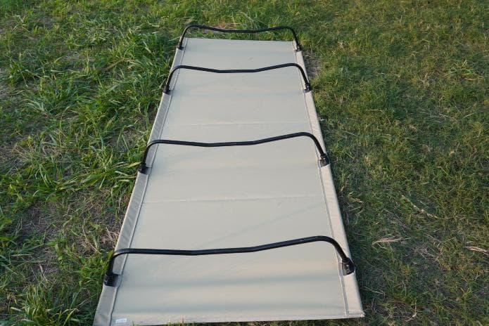DODバッグインベッド組み立て方 脚
