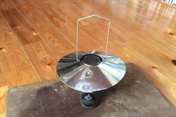 UCOキャンドルランタン傘型リフレクター自作 完成