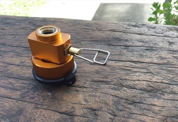 ガス缶 詰め替え 変換アダプター