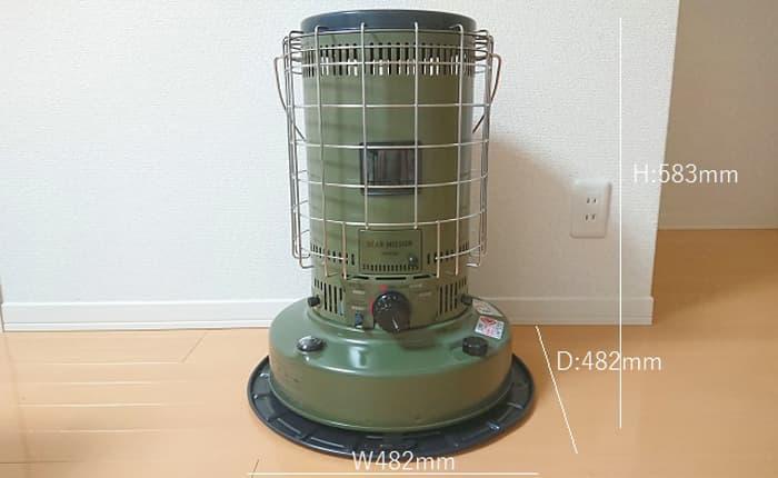 トヨトミ石油ストーブ KS-GE67 スペック