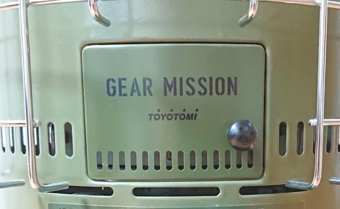 トヨトミ石油ストーブ GEAR MISSION