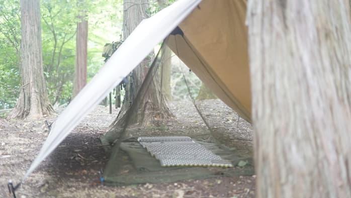 タープ泊 蚊帳