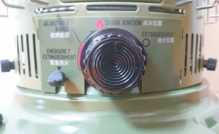 トヨトミ石油ストーブ KS-GE67 点火