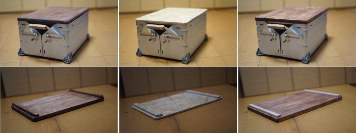 シェルコン天板DIY