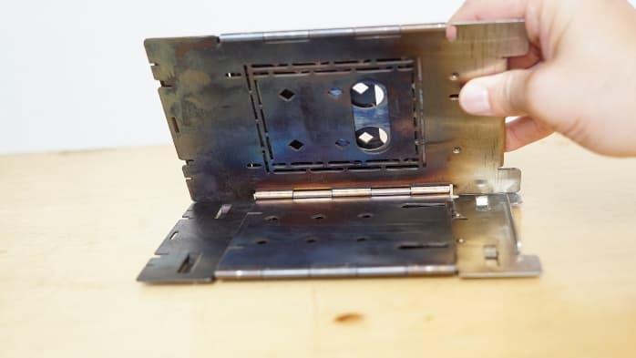 ファイヤーボックス 組み立て