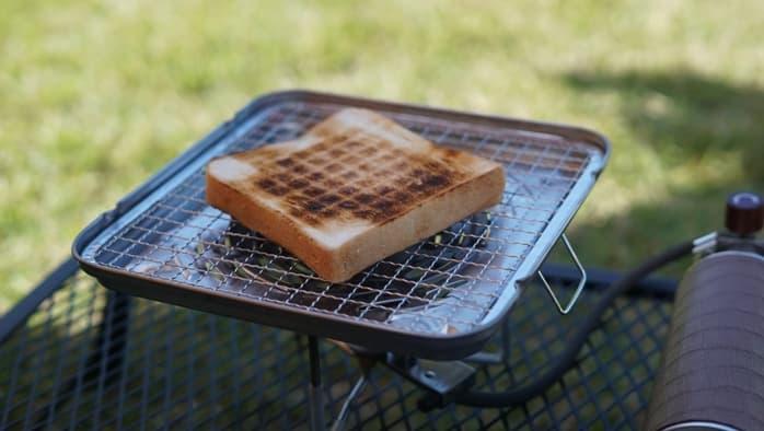 100均 焼き網 トースト