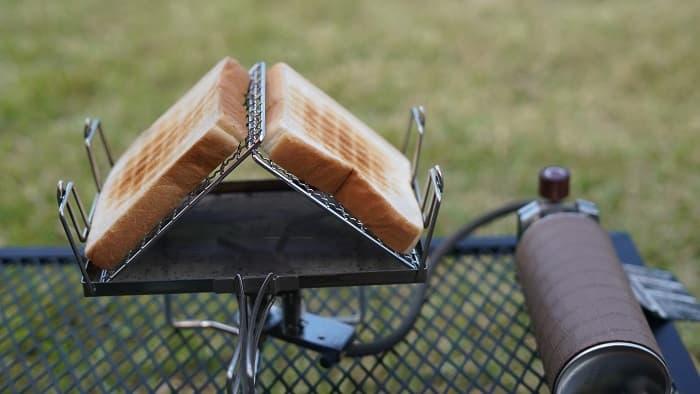 キャンプ トースト ガスバーナー