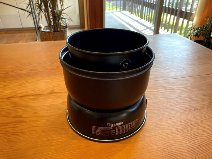 ストームクッカー 鍋使用時