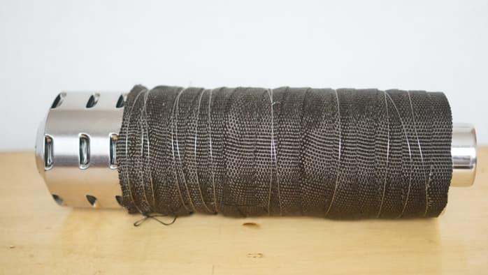 サーカスtc 薪ストーブ 二重煙突 耐熱バンテージ