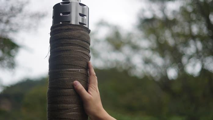 サーカスtc 薪ストーブ 煙突 耐熱バンテージ